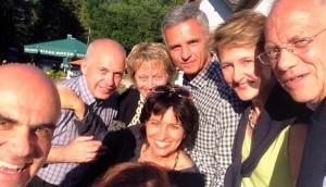 Alain Bersets Selfie zur aktuellen Bundesratsreise