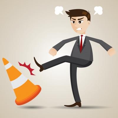 Ärger gehört leider dazu. Doch wenn der Stress länger anhält oder gar das Team belastet, sind Handlungen nötig. Bild: iosphere, freedigitalfotos.net