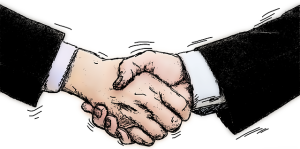 Was zählt ein Handschlag? Seine Symbolkraft ist hoch