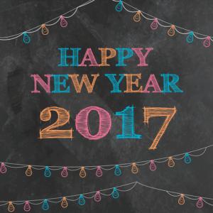 Ziele für 2017 happy new yeat