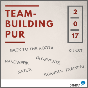 Teambuilding-Trends 2017